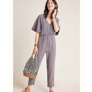 CLOTH & STONE GRAY GULPIYURI JUMPSUIT